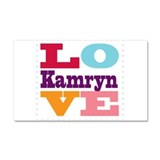 I Love Kamryn Car Magnet 20 x 12