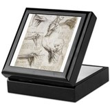 anatomy muscles Keepsake Box