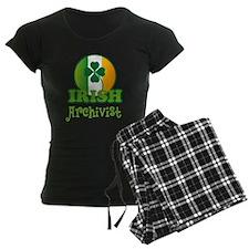 Irish Archivist St Patricks Pajamas