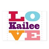 I Love Kailee Postcards (Package of 8)