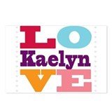 I Love Kaelyn Postcards (Package of 8)