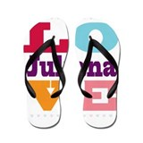 I Love Juliana Flip Flops