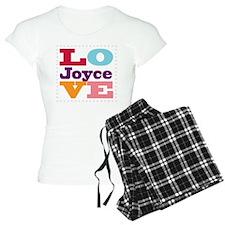 I Love Joyce Pajamas