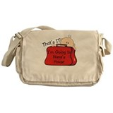 Funny Toddler Messenger Bag