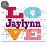 I Love Jaylynn Puzzle