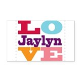 I Love Jaylyn Rectangle Car Magnet