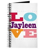 I Love Jayleen Journal