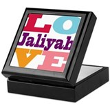I Love Jaliyah Keepsake Box