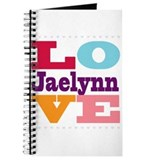 I Love Jaelynn Journal