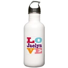 I Love Jaelyn Water Bottle