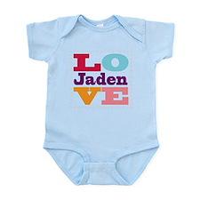 I Love Jaden Infant Bodysuit