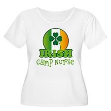 Irish Camp Nurse St Patricks T-Shirt
