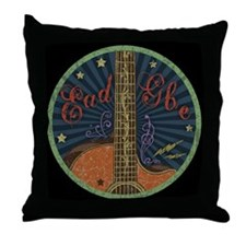 Eadgbe - grungy Throw Pillow
