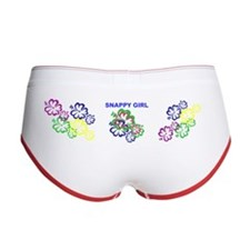 Women's Boy Brief SNAPPY GIRL