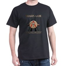 Molon Labe - Spartan Shield T-Shirt