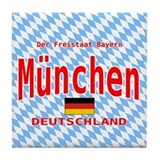 Munich Tile Coaster