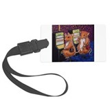 Casino1 Woodhill Whiskers Large Luggage Tag