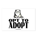 Opt To Adopt (cat) Postcards (Package of 8)