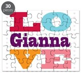 I Love Gianna Puzzle
