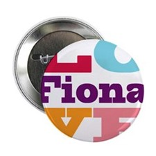 "I Love Fiona 2.25"" Button (100 pack)"
