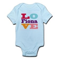 I Love Fiona Infant Bodysuit