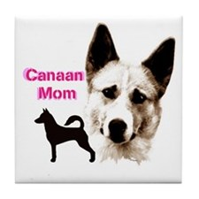 canaan mom Tile Coaster