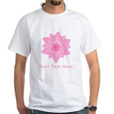 Pink Water Lily and Text. Shirt