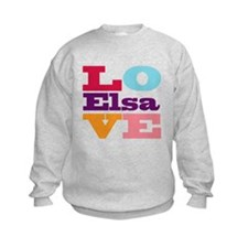 I Love Elsa Sweatshirt