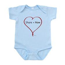 Facebook Heart - Share Now Valentine's Day Onesie