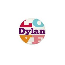 I Love Dylan Mini Button