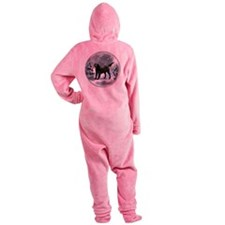 Flat-Coated Retriever Footed Pajamas
