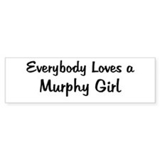 Murphy Girl Bumper Bumper Sticker