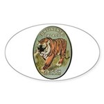 Continental Palace Saigon Sticker (Oval 10 pk)