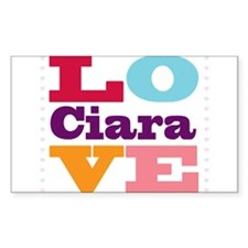 I Love Ciara Decal