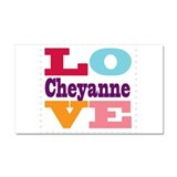 I Love Cheyanne Car Magnet 20 x 12
