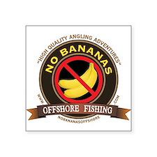 No Bananas Classic Sticker