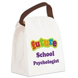 Future School Psychologist Canvas Lunch Bag