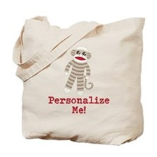 Classic Sock Monkey Tote Bag
