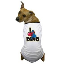 I Love Dino Dog T-Shirt