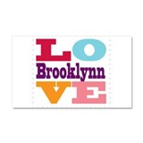 I Love Brooklynn Car Magnet 20 x 12