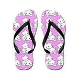 Cute Kitty Cats Flip Flops