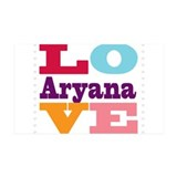 I Love Aryana Wall Decal