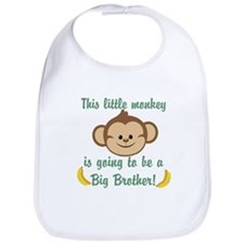 Big Brother To Be Monkey Bib