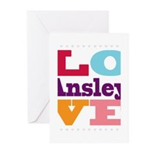 I Love Ansley Greeting Cards (Pk of 20)