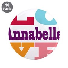 "I Love Annabelle 3.5"" Button (10 pack)"
