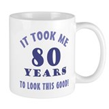 Hilarious 80th Birthday Gag Gifts Small Mug