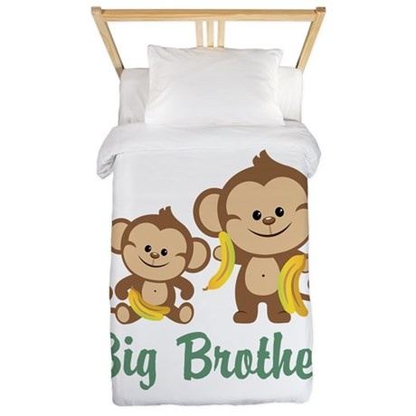Big Brother Monkeys Twin Duvet