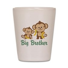 Big Brother Monkeys Shot Glass