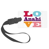 I Love Anahi Luggage Tag
