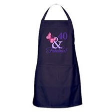 40 And Fabulous Apron (dark)